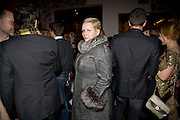 SANDRA VERMUYTEN,  Prada Congo Art Party hosted by Miuccia Pada and Larry Gagosian. The Double Club,  Torrens St. London EC1. The Double Club is A Carsten Holler project by Fondazione Prada. 10 February 2009. *** Local Caption *** -DO NOT ARCHIVE-© Copyright Photograph by Dafydd Jones. 248 Clapham Rd. London SW9 0PZ. Tel 0207 820 0771. www.dafjones.com.<br /> SANDRA VERMUYTEN,  Prada Congo Art Party hosted by Miuccia Pada and Larry Gagosian. The Double Club,  Torrens St. London EC1. The Double Club is A Carsten Holler project by Fondazione Prada. 10 February 2009.