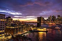 Dumbo Neighborhood & Brooklyn Bridge