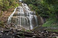 Bridal Veil Falls at Bridal Veil Falls Provincial Park in Chilliwack, British Columbia, Canada