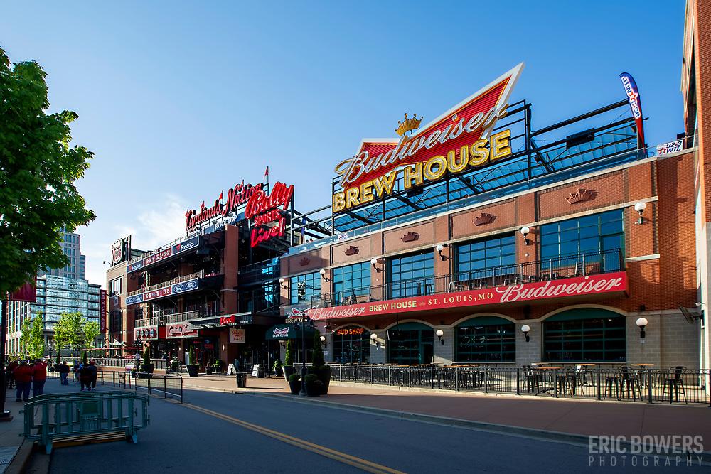 Ballpark Village in St. Louis. MO.