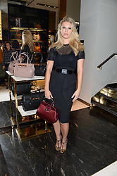 CHLOE HAYWARD at a party hosted by Gucci & Clara Paget to drink a new cocktail 'I Bamboo You' held at Gucci, 34 Old Bond Street, London on 16th October 2013.