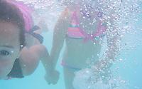 A refreshing swim in the Kiwanis Pool in St. Johnsbury Vermont.  Karen Bobotas / for Kiwanis International