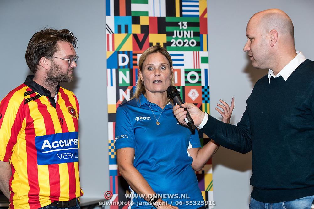 NLD/Zeist/20191123 - persconferentie Nationaal Artiesten Elftal van de KNVB, ............