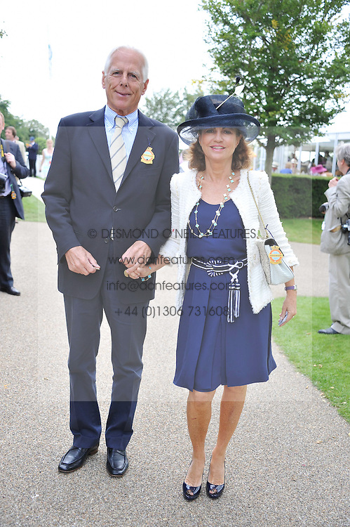 MICHAEL & PILAR BOXFORD at the 3rd day of the 2011 Glorious Goodwood Racing Festival - Ladies Day at Goodwood Racecourse, West Sussex on 28th July 2011.