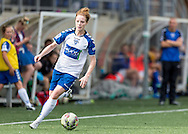 Nicki Gears (Durham Womens FC) in action during the FA Women's Super League match between Durham Women FC and Everton Ladies at New Ferens Park, Belmont, United Kingdom on 30 August 2015. Photo by George Ledger.