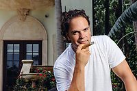 MIAMI, FL - MARCH 12: Mike Piazza poses for a portrait  at his home in Miami Beach, Florida. <br /> <br /> (Photo by Tom DiPace for MLB Photos)