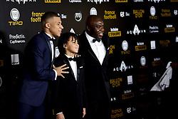 December 3, 2018 - Paris, France, France - Kylian Mbappe son pere et son frere Ethan (Credit Image: © Panoramic via ZUMA Press)