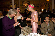 LYN BARBER; AGYNESS DEYN; KATIE GRAND, Kate Grand hosts a Love Tea and Treasure hunt at Flash. Royal Academy. Burlington Gardens. London. 10 december 2008 *** Local Caption *** -DO NOT ARCHIVE-© Copyright Photograph by Dafydd Jones. 248 Clapham Rd. London SW9 0PZ. Tel 0207 820 0771. www.dafjones.com.<br /> LYN BARBER; AGYNESS DEYN; KATIE GRAND, Kate Grand hosts a Love Tea and Treasure hunt at Flash. Royal Academy. Burlington Gardens. London. 10 december 2008