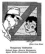 Three Came Home ; Sessue Hayakawa and Claudette Colbert