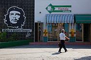 Gas station in Bayamo, Granma, Cuba.