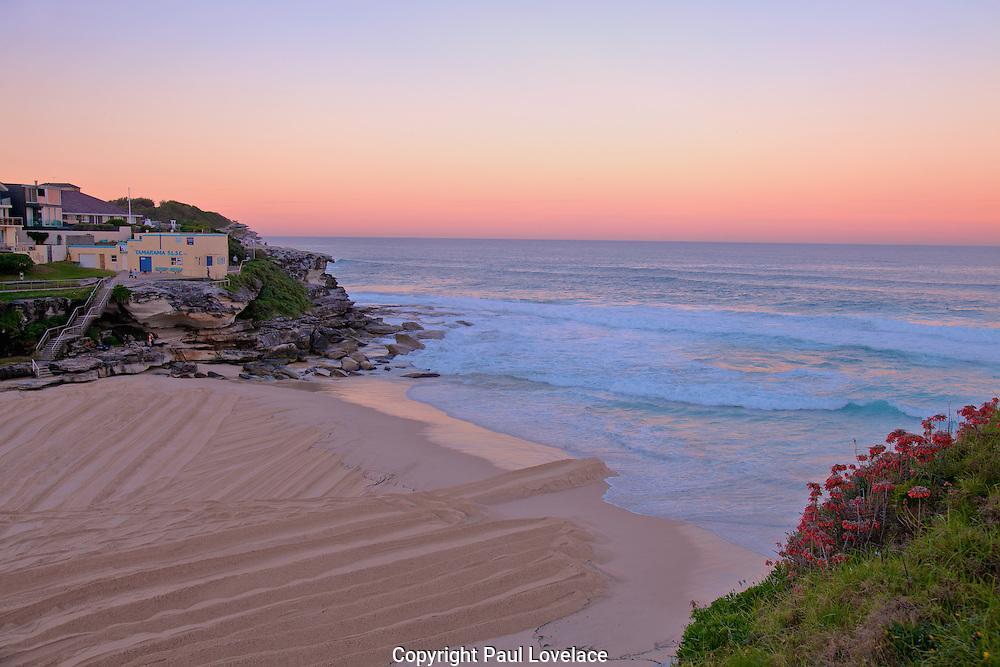 Late afternoon, Tamarama Beach, Sydney, Australia