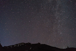 Stars Over Mt. Shasta, Shasta-Trinity National Forest, California, US