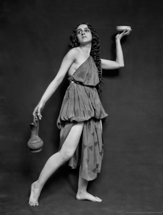 Vera Fokine as a Young Béotienne in 'Narcisse', London, England, 1914