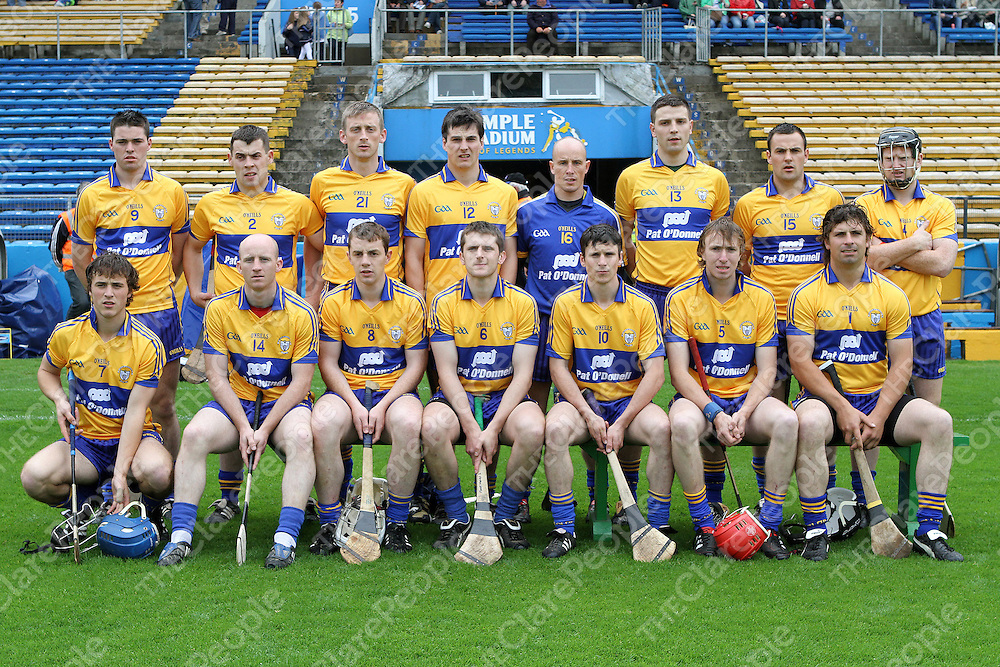 Clare team which lined out against Waterford in the Munster Intermediate Hurling Semi-Final. - Photograph by Flann Howard
