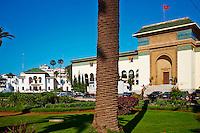 Maroc, Casablanca, place Mohammed V, le Tribunal, 1922, Joseph Marrast // Morocco, Casablanca, Mohammed V square, Court of Justice (Tribunal), 1922, Joseph Marrast architect
