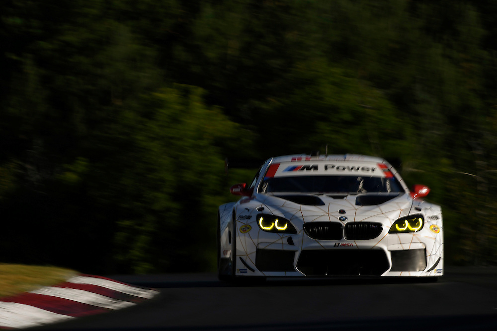 7-10 July 2016, Bowmanville, Ontario Canada<br /> 100, BMW, F13 M6, GTLM, Lucas Luhr, John Edwards<br /> ©2016, Scott R LePage <br /> LAT Photo USA