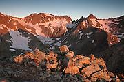 Sunrise, Conundrum Peak 14,060ft, Elk Mountains, Colorado.