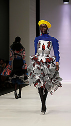 241018 2nd day of SA Fashion week took place as they were also celebrating their 21st birthday in Sandton Johannesburg South Africa.The theme on this particular show was BRICS.Designers from the BRICS member countries show cased on this day.Photo Simphiwe Mbokazi African News Agency/ANA 4