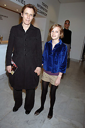 SOPHIE HICKS and her daughter OLYMPIA at a reception hosted by Vogue magazine to launch photographer Tim Walker's book 'Pictures' sponsored by Nude, held at The Design Museum, Shad Thames, London SE1 on 8th May 2008.<br /><br />NON EXCLUSIVE - WORLD RIGHTS
