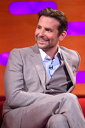 Bradley Cooper during the filming of the Graham Norton Show at BBC Studioworks 6 Television Centre, Wood Lane, London, to be aired on BBC One on Friday evening.