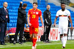 Wales manager Ryan Giggs - Rogan/JMP - 06/09/2020 - FOOTBALL - Cardiff City Stadium - Cardiff, Wales - Wales v Bulgaria - UEFA Nations League Group B4.