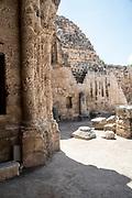 the Crusader Church of St. Anne in Zippori (Sepphoris), Lower Galilee, Israel