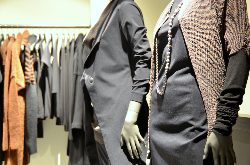 Photograph of Sarah Pacini store at Bleecker Street in the West Village New York.