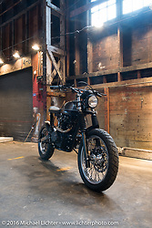 The One Show motorcycle show in Portland, OR. February 12, 2016. ©2016 Michael Lichter
