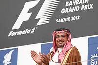 MOTORSPORT - F1 2012 -  BAHRAIN GRAND PRIX - SAKHIR (BHR) - 19 TO 22/04/2012 - PHOTO : FREDERIC LE FLOC'H / DPPI - <br /> HIS ROYAL HIGHNESS PRINCE SALMAN BIN HAMAD AL KHALIFA CROWN PRINCE / AMBIANCE / PORTRAIT