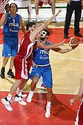 DESCRIZIONE : Firenze I° Torneo Nelson Mandela Forum Italia Bulgaria<br /> GIOCATORE : Marco Belinelli<br /> SQUADRA : Nazionale Italia Uomini <br /> EVENTO : I° Torneo Nelson Mandela Forum <br /> GARA : Italia Bulgaria<br /> DATA : 18/07/2010 <br /> CATEGORIA : tiro penetrazione<br /> SPORT : Pallacanestro <br /> AUTORE : Agenzia Ciamillo-Castoria/C.De Massis<br /> Galleria : Fip Nazionali 2010 <br /> Fotonotizia : Firenze I° Torneo Nelson Mandela Forum Italia Bulgaria<br /> Predefinita :