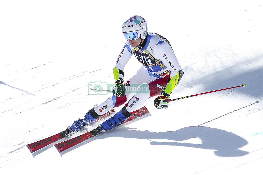 March 16, 2019 - El Tarter, Andorra - Marco Odermatt of Switzerland Ski Team, during Men's Giant Slalom Audi FIS Ski World Cup race, on March 16, 2019 in El Tarter, Andorra. (Credit Image: © Joan Cros/NurPhoto via ZUMA Press)