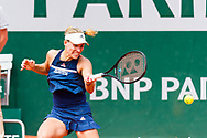 Angelique Kerber (ger) during the Roland Garros French Tennis Open 2018, day 11, on June 6, 2018, at the Roland Garros Stadium in Paris, France - Photo Pierre Charlier / ProSportsImages / DPPI