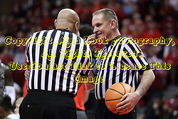 07 January 2018:  Ed Crenshaw and Kelly Self during a College mens basketball game between the Missouri State Bears and Illinois State Redbirds in Redbird Arena, Normal IL
