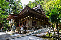 """Tairyuji Temple is the 21sttemple on the 88 temple pilgrimage in Shikoku and is famous as anansho - in other words a """"difficult to reach temple.""""  Set at 610 meters above sea level and involves a steep descent followed by a steep ascent. Most visitors take the ropeway which opened in 1992. Tairyuji is special and unusual among the pilgrimage temples in that whereas all the temples on the pilgrimageclaim to have some connection with Kobo Daishi almost all of them have no historical documentation confirming it. Tairyuji does - Kobo Daishi himself wrote about the time he spent on this mountain at the age of 15. He spent 50 days here reciting a mantra one million times in an attempt to reach enlightenment. Though he didn't succeed, he continued his ascetic practices further south in a cave on Cape Muroto."""