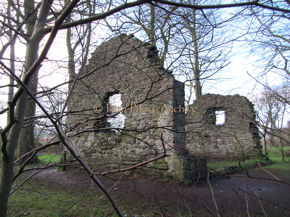 St Brecan's Church, St, Columb's Park, Derry, c.1600 on c.6th site,