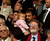 Photo: Jed Wee/Sportsbeat Images.<br /> Liverpool v Charlton Athletic. The Barclays Premiership. 13/05/2007.<br /> <br /> Liverpool's Jerzy Dudek is robbed of the chance to make a playing farewell at Anfield by injury, and looks on from the Directors' box.