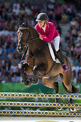 Sanna Siltakorpi, (FIN), Lucky Accord - Jumping Eventing - Alltech FEI World Equestrian Games™ 2014 - Normandy, France.<br /> © Hippo Foto Team - Leanjo De Koster<br /> 31-08-14