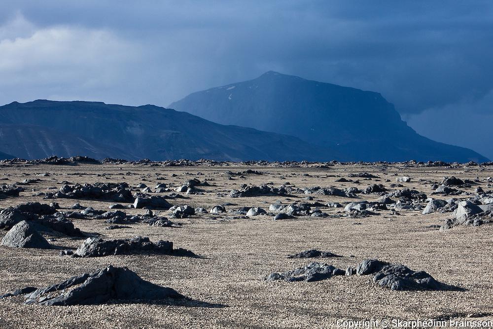 The National Mountain of Iceland, Herðubreið (1682 m), north-east Iceland