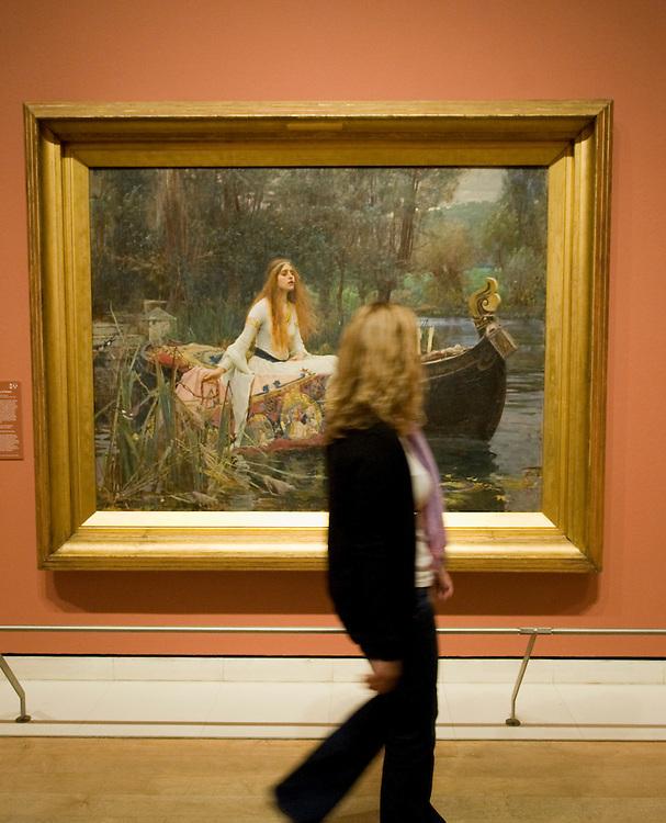 .London June 23rd The Royal Academy of Arts presents a major retrospective exhibition of the Pre-Raphaelite artist, John William Waterhouse RA (1849-1917)...***Standard Licence  Fee's Apply To All Image Use***.Marco Secchi /Xianpix. tel +44 (0) 845 050 6211. e-mail ms@msecchi.com or sales@xianpix.com.www.marcosecchi.com