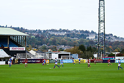 A general view of Twerton Park - Mandatory by-line: Will Cooper/JMP - 18/10/2020 - FOOTBALL - Twerton Park - Bath, England - Bristol City Women v Birmingham City Women - Barclays FA Women's Super League