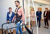 Koningin Maxima bezoekt ARQ Nationaal Psychotrauma Centrum