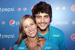 Guilherme Leicam no camarote da Pepsi  do Planeta Atl'ntida 2014/RS, que acontece nos dias 07 e 08 de fevereiro de 2014, na SABA, em Atl'ntida. FOTO: Itamar Aguiar/ AgÍncia Preview