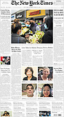 March 20, 2021 (USA): Front-page: Today's Newspapers In United States