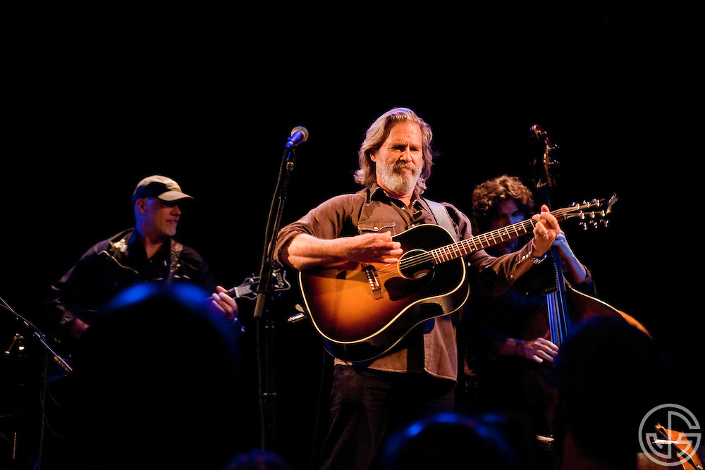 Jeff Bridges performs songs from his new, self-titled album at The Troubadour in West Hollywood, California on June 28, 2011.  Jeff Bridges' self-titled album is due for an August 16, 2011, release on Blue Note Records.