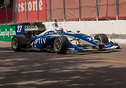 March 9, 2019 - St. Petersburg, FL, U.S. - ST. PETERSBURG, FL - MARCH 09: ( driver Robert Megennis (27) during the Indy Lights Race of St. Petersburg on March 9 in St. Petersburg, FL. (Photo by Andrew Bershaw/Icon Sportswire) (Credit Image: © Andrew Bershaw/Icon SMI via ZUMA Press)