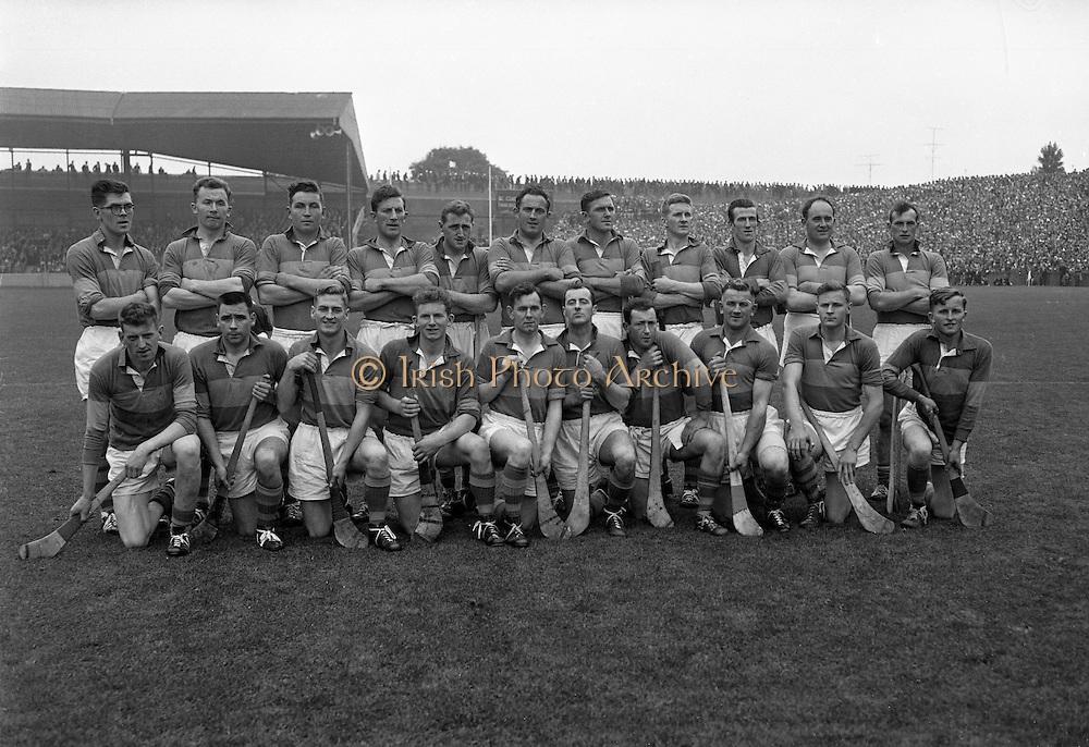 All-Ireland Senior Hurling Final, Dublin v Tipperary. Tipperary Team..03.09.1961