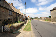 The Northamptonshire Village of Aldwincle in East Nortamptonshire.<br /> Is unusual un that for it size it feature two large churches