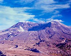 Mt. St. Helens from Johnston Ridge, Mt. St. Helens National Volcanic Monument, Washington, US, August 2004