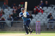 Derbyshires Logan van Beek during the Royal London 1 Day Cup match between Lancashire County Cricket Club and Derbyshire County Cricket Club at the Emirates, Old Trafford, Manchester, United Kingdom on 2 May 2019.