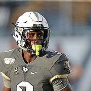 ORLANDO, FL - AUGUST 29: Adrian Killins Jr. #9 of the UCF Knights is seen during a NCAA football game between the Florida A&M Rattlers and the UCF Knights on August 29 2019 in Orlando, Florida. (Photo by Alex Menendez/Getty Images) *** Local Caption *** Adrian Killins Jr.